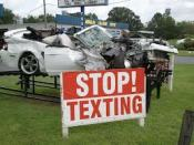 STOP TEXTING